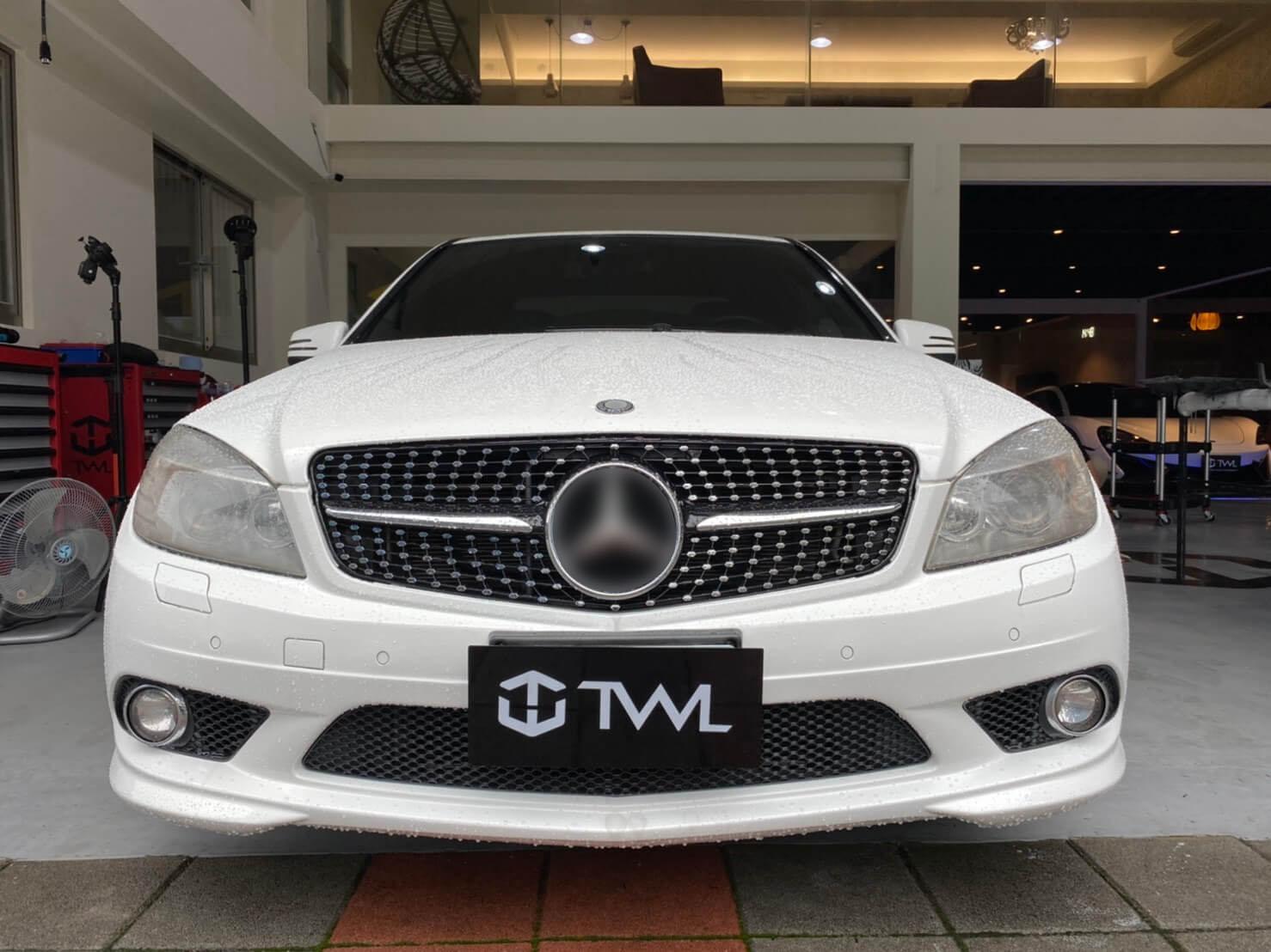 TWL-BENZ W204  C200 C300 AMG C63 C-Class-Grille