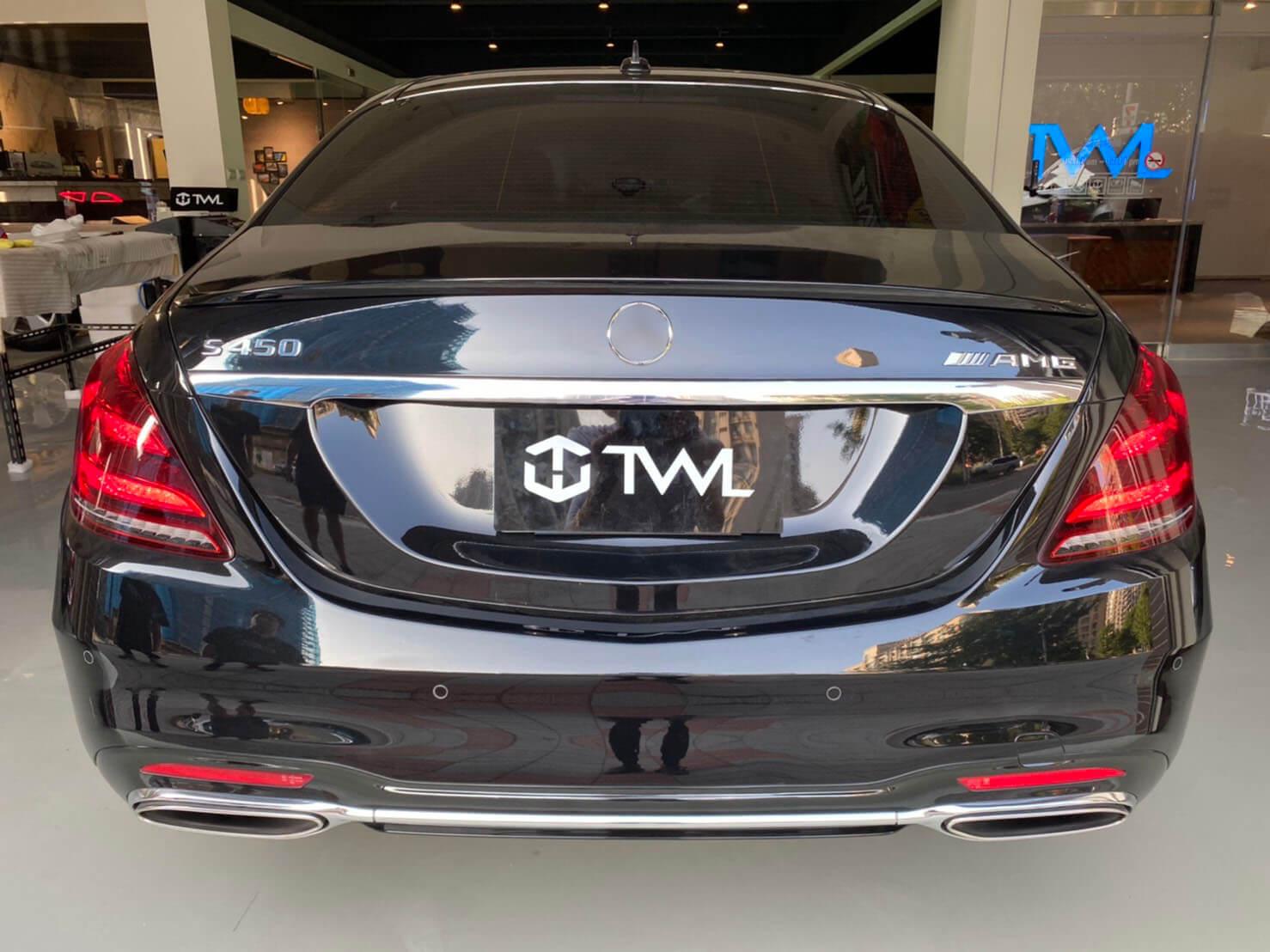 TWL-BENZ W222 S-Class S63 S65 S400 S500 AMG-spoiler